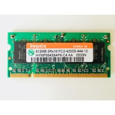 Hynix (HYMP564S64P6-C4 AA) 512MB PC-4200 DDR2-533MHz SODIMM 200pin