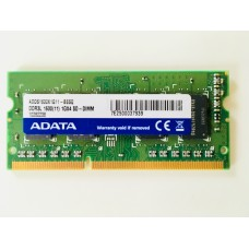 Adata (ADDS1600X1G11-BSSQ) 1GB PC-12800 DDR3-1600MHz SODIMM 204pin