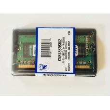 Kingston (KVR13S9S6/2) 2GB PC-10600 DDR3-1333MHz SODIMM 204pin