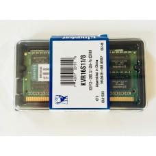 Kingston (KVR16S11/8) 8GB PC-12800 DDR3-1600MHz SODIMM 204pin