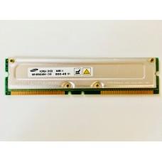 Samsung (MR16R0824BN1-CK8) 64MB PC-800 RDRAM-400MHz RIMM 184pin